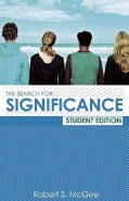 The Search for Significance (Paperback)