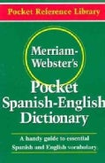 Merriam-Webster&#39;s Pocket Spanish-English Dictionary (Paperback)