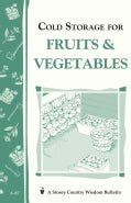 Cold Storage for Fruits &amp; Vegetables (Paperback)