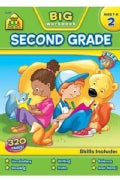 Big Second Grade Workbook (Paperback)