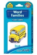 Word Families: Flash Cards (Paperback)