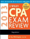 Wiley CPA Exam Review 2013: Regulation (Paperback)