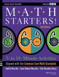 Math Starters: 5 to 10 Minute Activities Organized by Common Core Standards, Grades 6-12 (Paperback)