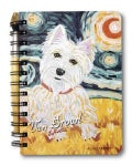 Westie Van Growl - Journal & Pen Set (Hardcover)
