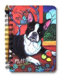 Boston Terrier Muttisse - Journal & Pen Set (Notebook / blank book)