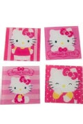 Hello Kitty 4pc. Glass Coaster Set (General merchandise)