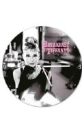 Audrey Hepburn 13.5 Cordless Wood Wall Clock (General merchandise)