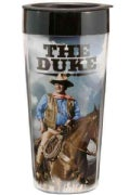 John Wayne 16 Oz. Plastic Travel Mug (General merchandise)