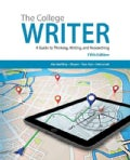 The College Writer: A Guide to Thinking, Writing, and Researching (Paperback)