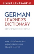 Living Language German Learner's Dictionary: German-English / English-German (Paperback)