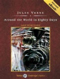Around the World in Eighty Days: Includes Ebook (CD-Audio)