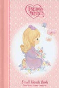 Precious Moments Holy Bible: New King James Version, Pink, Small Hands Bible (Hardcover)