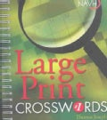 Large Print Crosswords (Paperback)