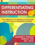 Differentiating Instruction: Collaborative Planning and Teaching for Universally Designed Learning (Paperback)
