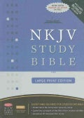 NKJV Study Bible: New King James Version, Black, Bonded Leather