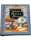 School Memory Album: A Collection Of Special Memories, Photos, And Keepsakes From Kindergarten Through Sixth G... (Spiral bound)