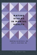 Rating Scales in Mental Health (Paperback)