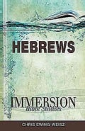 Immersion Bible Studies Hebrews (Paperback)