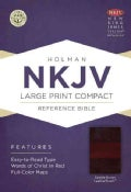 Holy Bible: New King James Version Reference Bible, Saddle Brown, Leathertouch (Paperback)