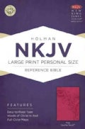 Holy Bible: New King James Version Personal Size Reference Bible, Pink, Leathertouch (Hardcover)