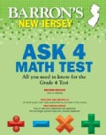 Barron's New Jersey Ask 4 Math Test (Paperback)