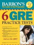 Barron's 6 GRE Practice Tests (Paperback)