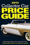 Collector Car Price Guide 2013 (Paperback)