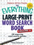 The Everything Large-Print Word Search Book: 150 Super-Big Word Search Puzzles (Paperback)