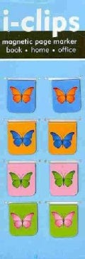 Butterflies I-Clips Magnetic Bookmarks (Paperback)