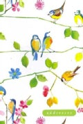 Watercolor Birds Address Book (Hardcover)