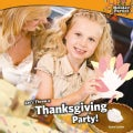 Let's Throw a Thanksgiving Party! (Paperback)