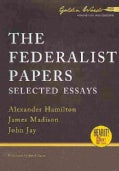 The Federalist Papers: Selected Essays (CD-Audio)