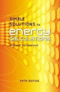 Simple Solutions to Energy Calculations (Hardcover)