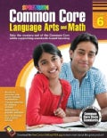 Common Core Math and Language Arts, Grade 6 (Paperback)
