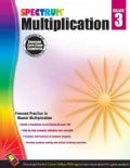 Spectrum Multiplication, Grade 3 (Paperback)