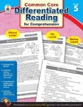 Differentiated Reading for Comprehension, Grade 5 (Paperback)