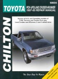 Chilton's Toyota Pick-Ups/Land Cruiser/4 Runner 1997-00 Repair Manual (Paperback)