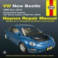 VW New Beetle Automotive Repair Manual: 1998 thru 2010, All gasoline engines TDI diesel engine (1998 thur 2004) (Paperback)