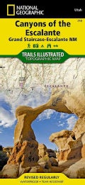 National Geographic Canyons of the Escalante Trails Illustrated Map: Grand Staircase - Escalante NM (Sheet map, folded)
