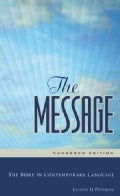 The Message: The Bible in Contemporary Language: Numbered Edition (Hardcover)