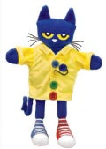 Pete the Cat and His Four Groovy Buttons Puppet (Toy)