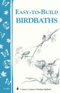 Easy-To-Build Birdbaths (Paperback)