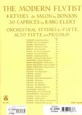 The Modern Flutist: 8 Etudes De Salon (Paperback)