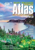 AAA Easy Reading Road Atlas 2013 (Paperback)
