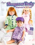 Sleepover Party Sleepwear for 18-Inch Dolls (Paperback)