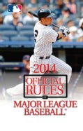2014 Official Rules of Major League Baseball (Paperback)