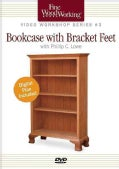 Bookcase with Bracket Feet (DVD video)