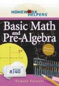Homework Helpers Basic Math and Pre-Algebra (Paperback)