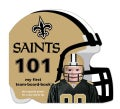 New Orleans Saints 101: My First Team-Board-Book (Board book)