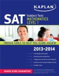 Kaplan SAT Subject Test: Mathematics Level 1 2013-2014 (Paperback)